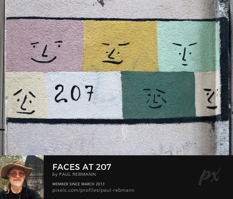 View online purchase options for Faces at 207 by Paul Rebmann