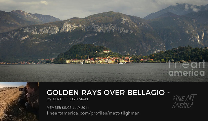 Bellagio Lake Como Art Prints