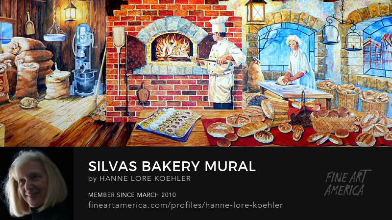 Bakery Wall Mural Commission