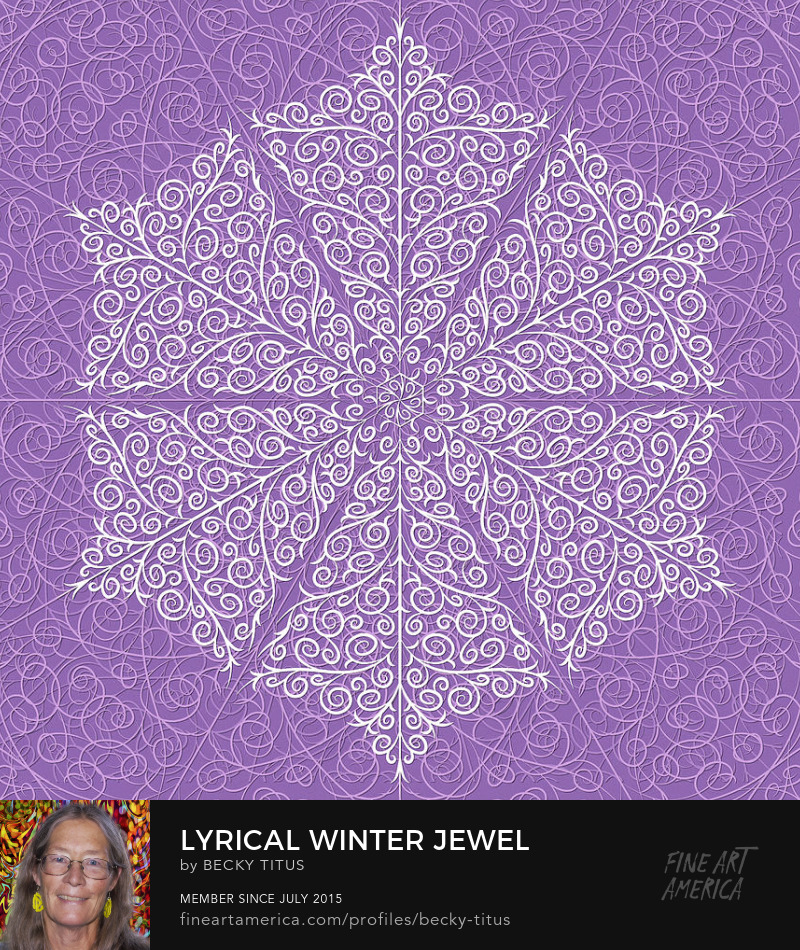 Lyrical Winter Jewel by Becky Titus