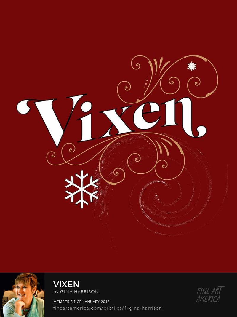 Vixen design by Gina Harrison