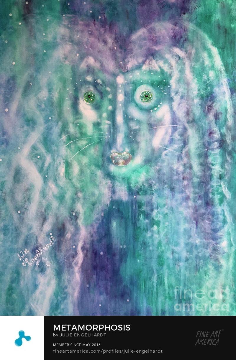 shapeshifter fantasy painting julie engelhardt