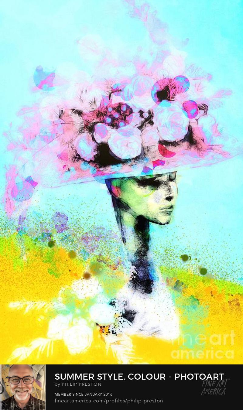 Floral art Philip Preston