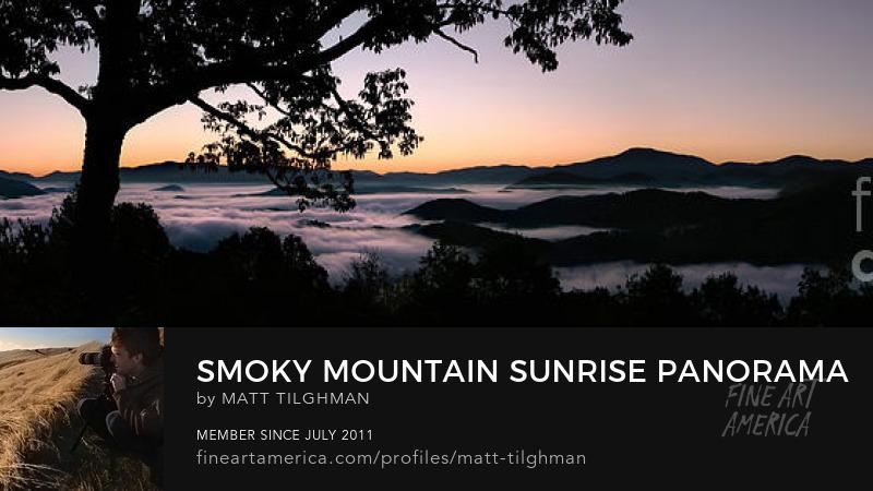 Smoky Mountain Sunrise Art Online