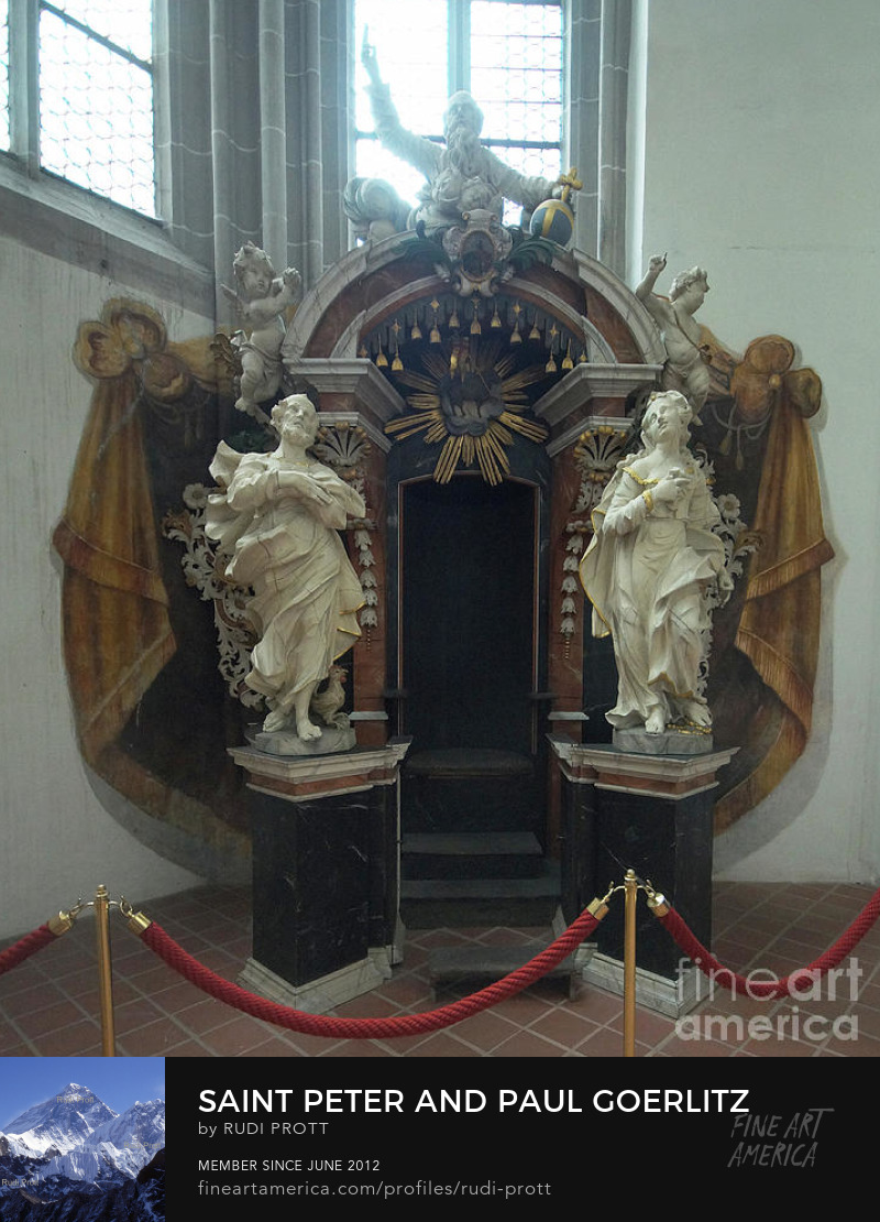 confessional in Saint Peter and Paul in Goerlitz