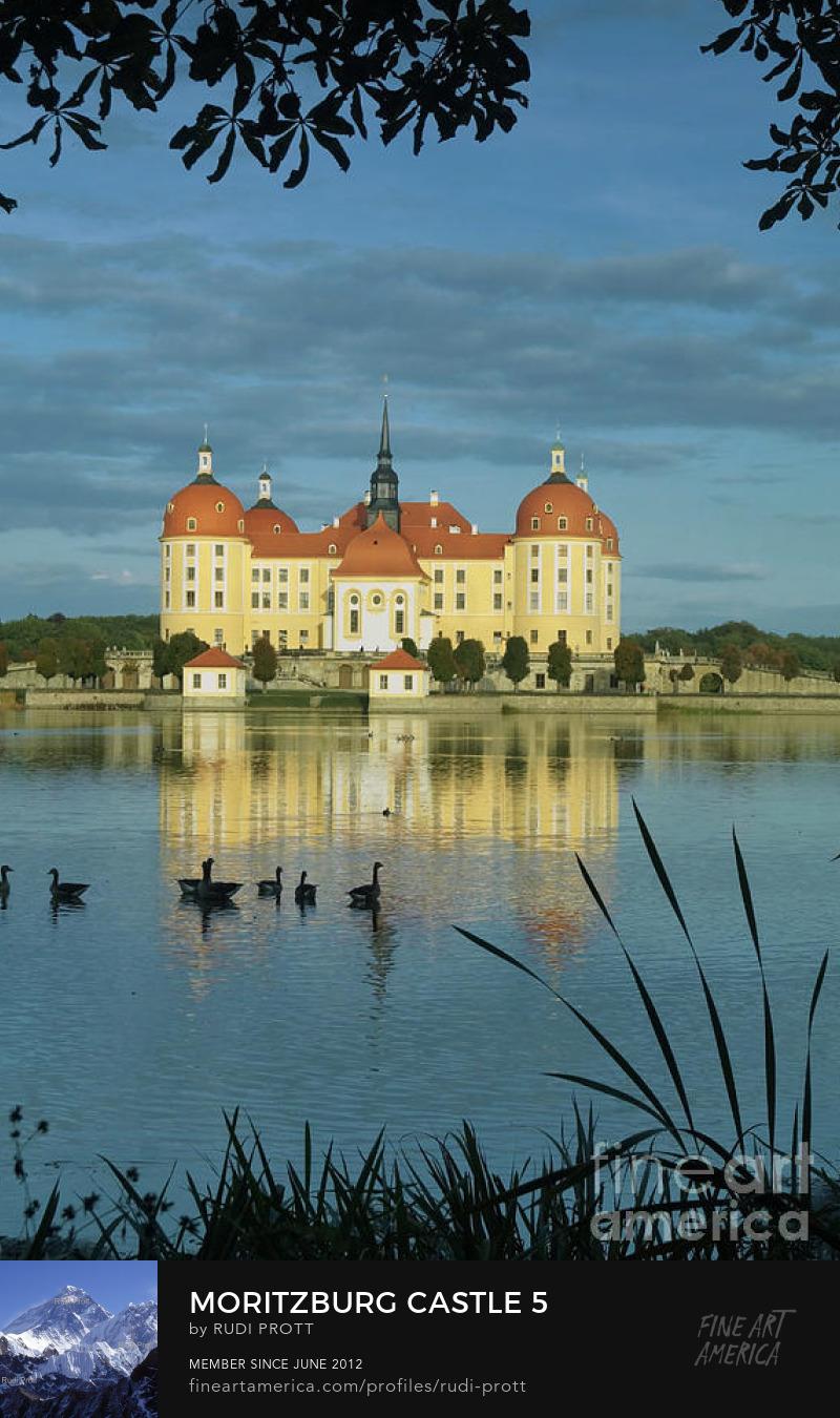 Moritzburg castle by Rudi Prott