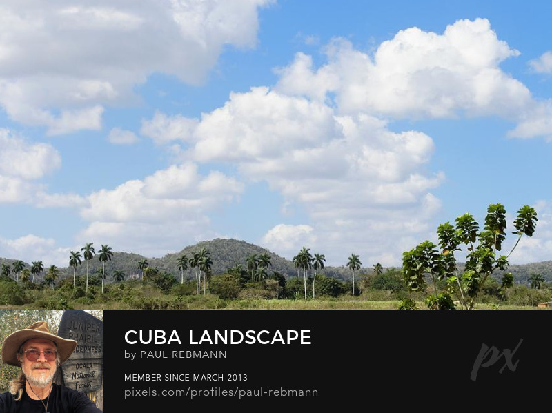 View online purchase options for Cuba Landscape by Paul Rebmann
