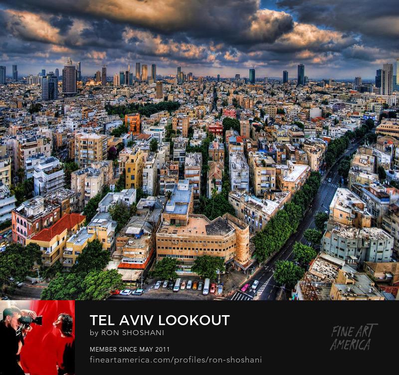 Tel Aviv by Ronsho