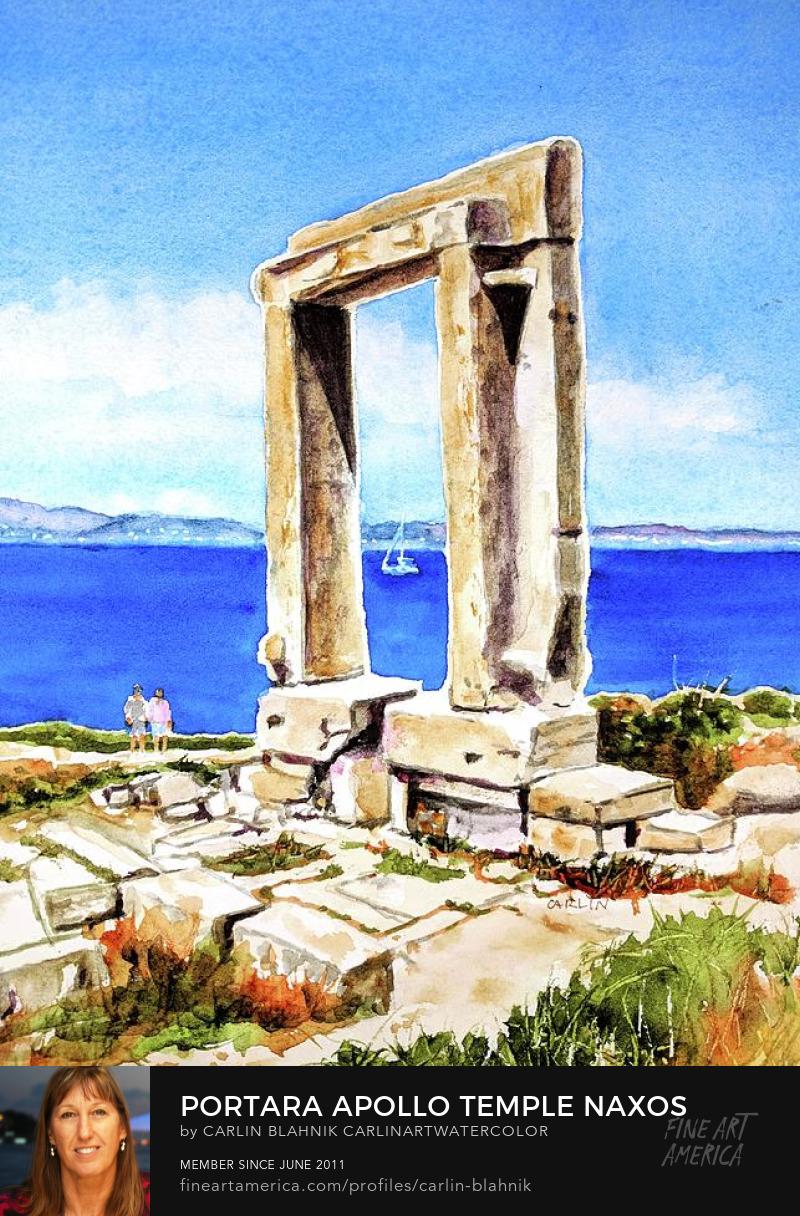 Naxos Greece Art Prints by Carlin Blahnik