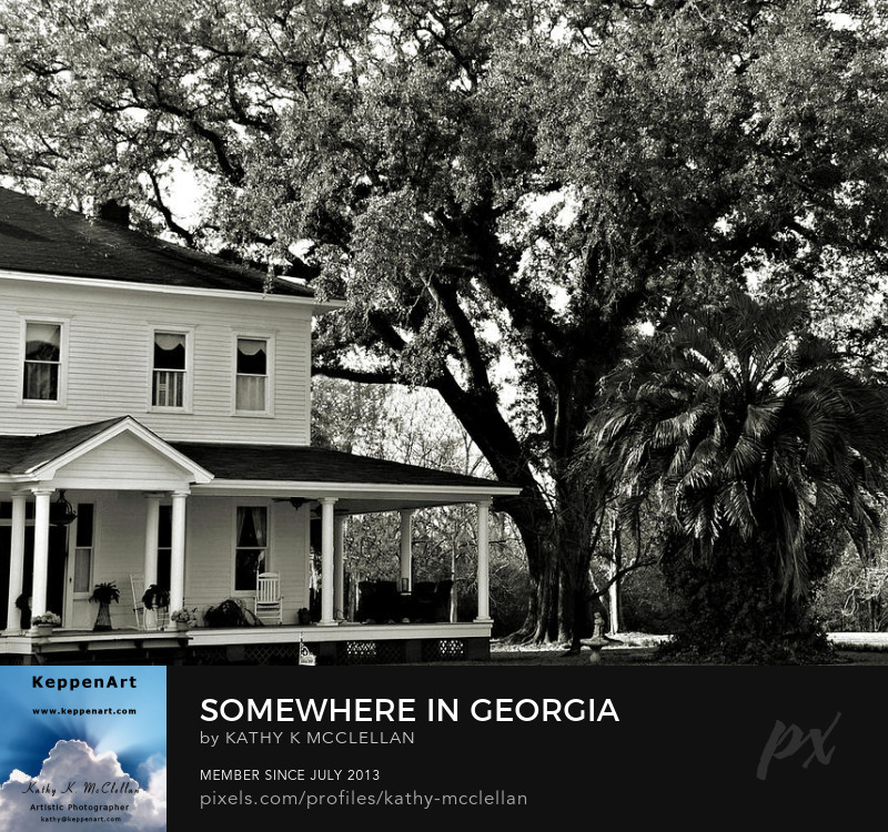 Somewhere In Georgia by Kathy K. McClellan