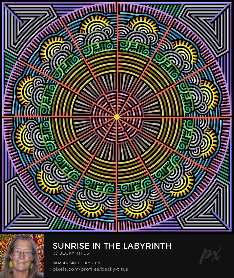 Sunrise In The Labyrinth Of Morning by Becky Titus