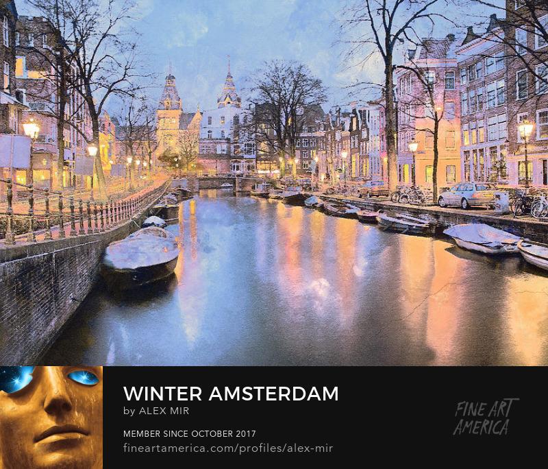 Amsterdam Canvas Art