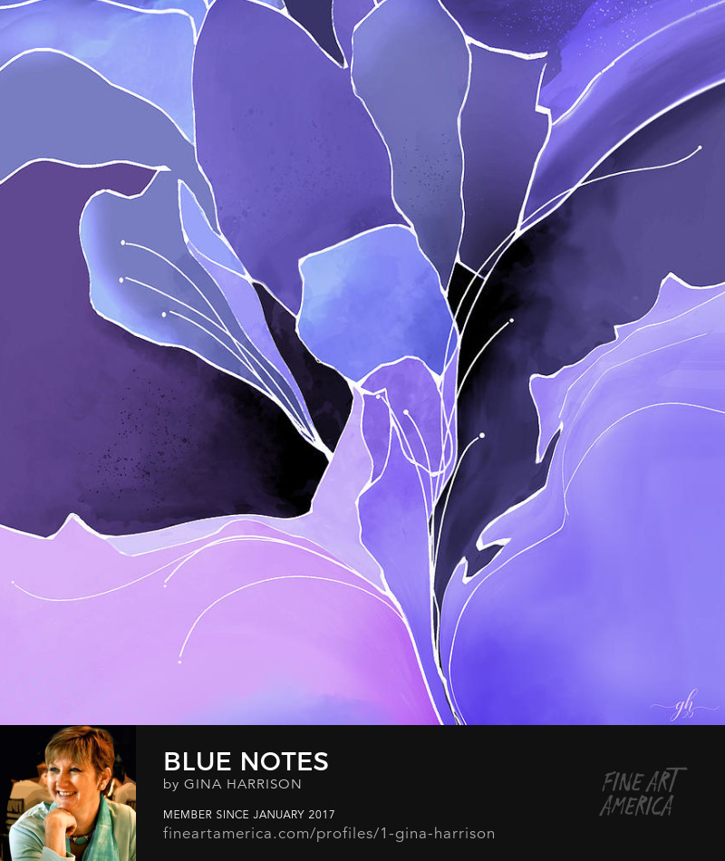 Blue Notes by Gina Harrison