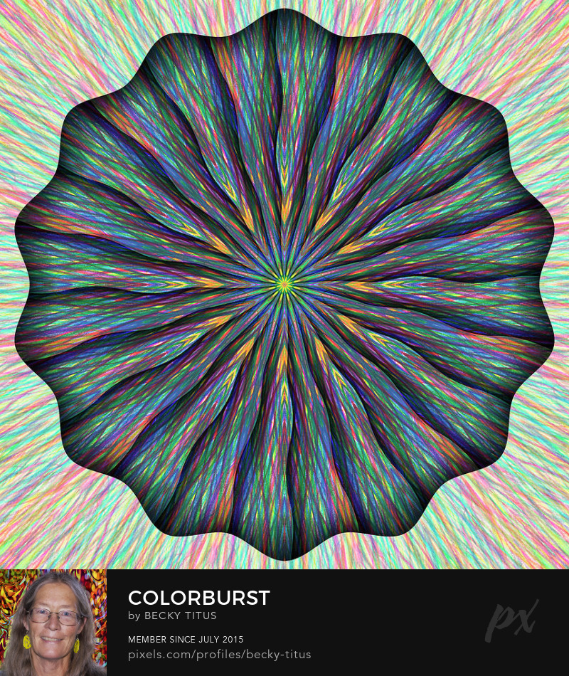 Colorburst by Becky Titus