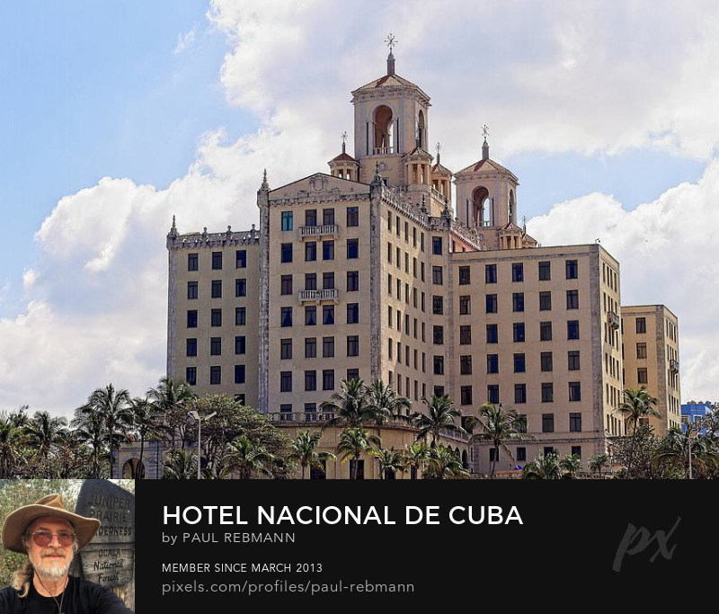 View online purchase options for Hotel Nacional de Cuba by Paul Rebmann