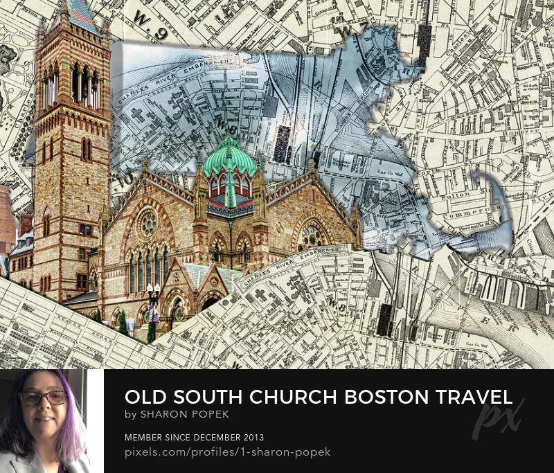 Boston Travel Art Puzzle Prints