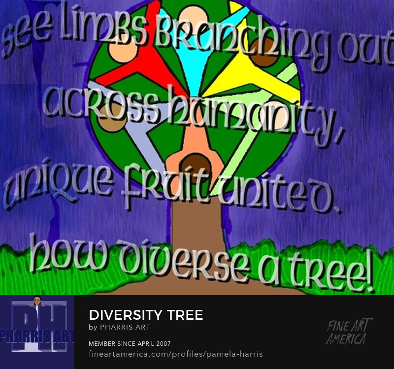 Diversity Tree Fine Art Prints