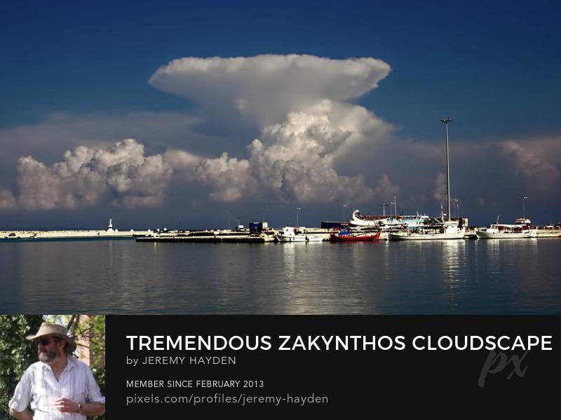 Zakynthos Cloudscape