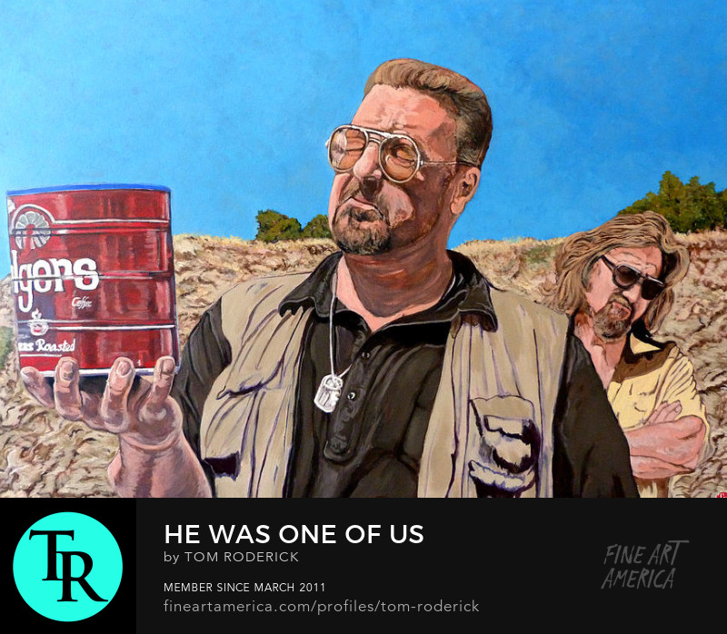 He was One of Us by Boulder artist Tom Roderick