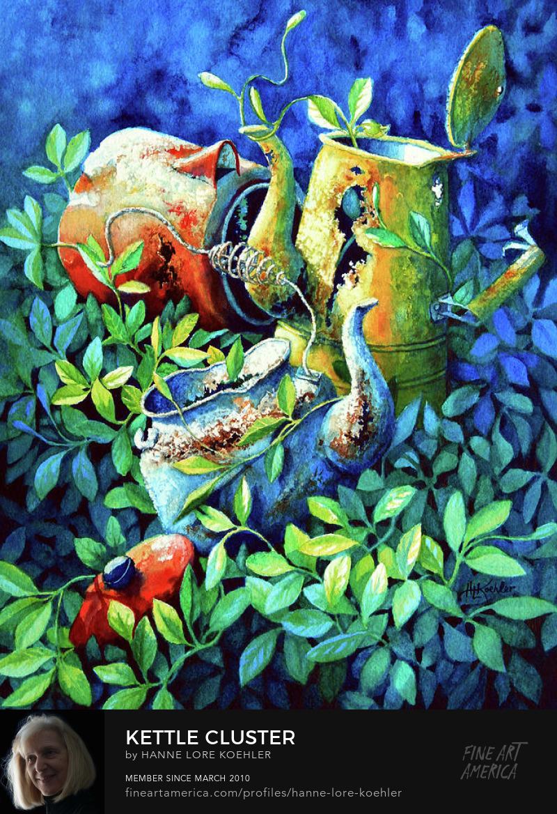 Still Life Garden Painting