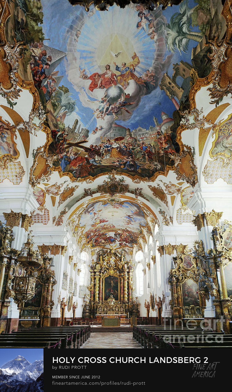 Holy Cross Church Landsberg by Rudi Prott