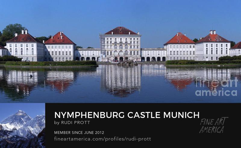 Nymphenburg Castle Munich by Rudi Prott