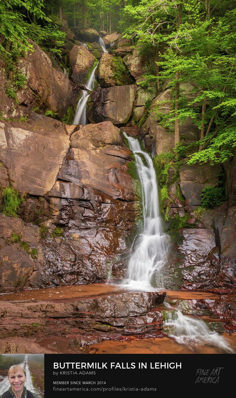 Buttermilk Falls Lehigh Gorge Kristia Adams