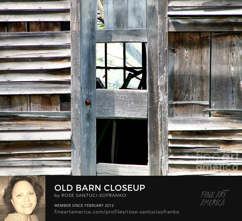 Old Barn Closeup