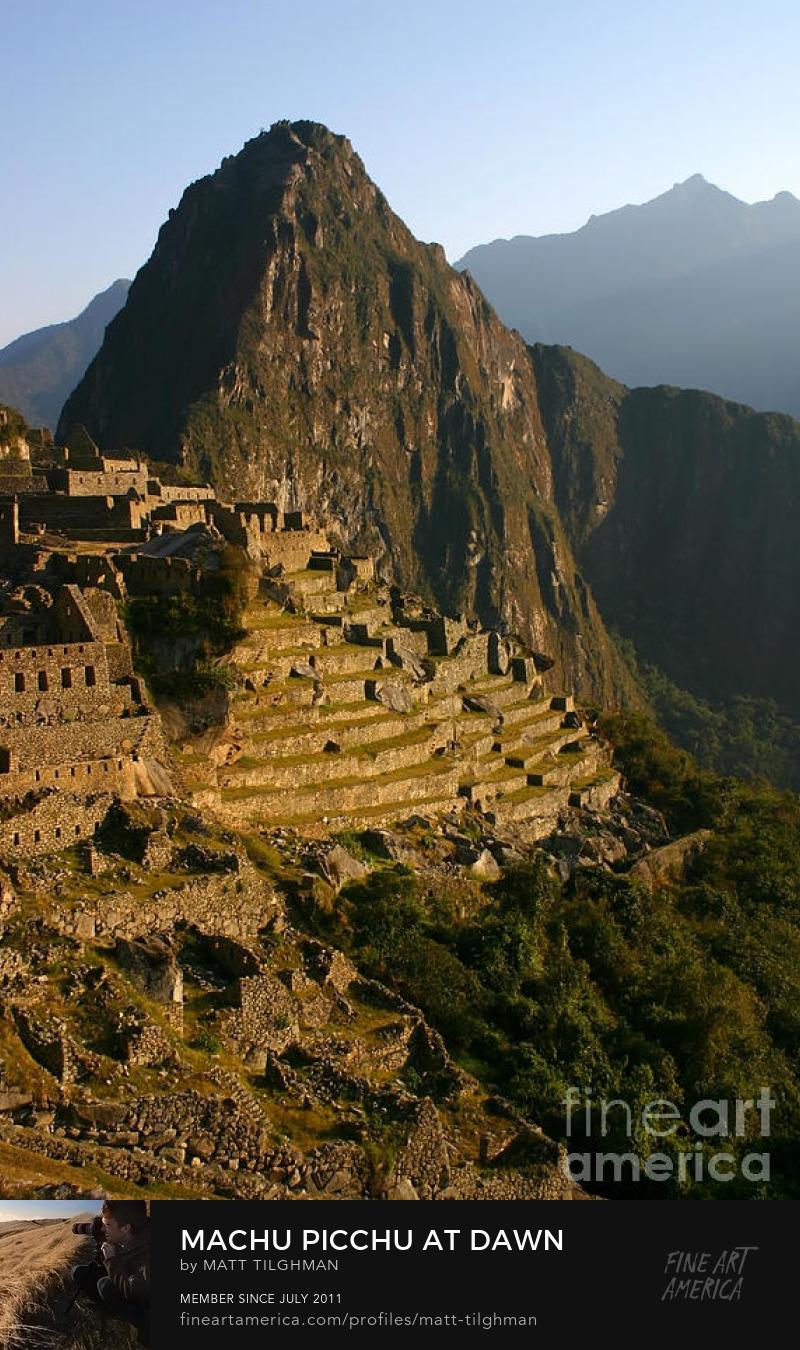 Machu Picchu Peru Art Prints