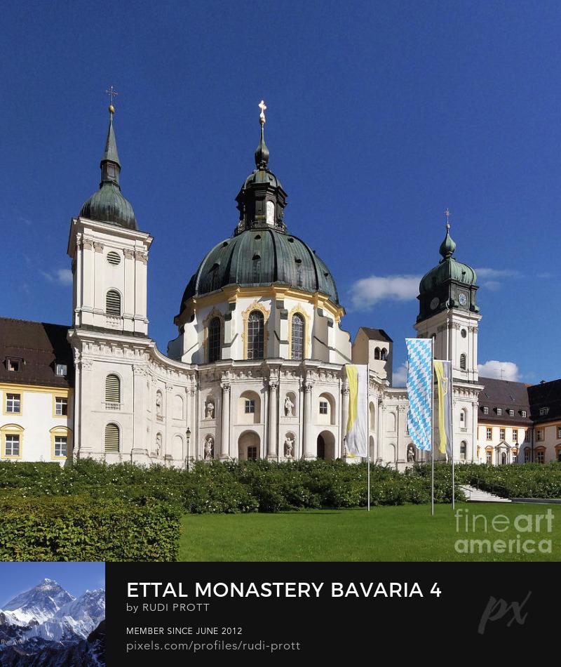 Ettal Monastery by Rudi Prott