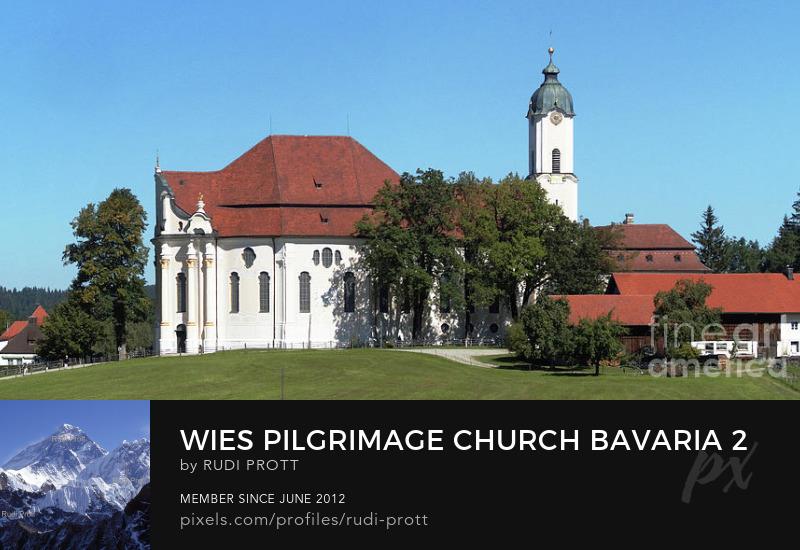 Wies Pilgrimage Church by Rudi Prott