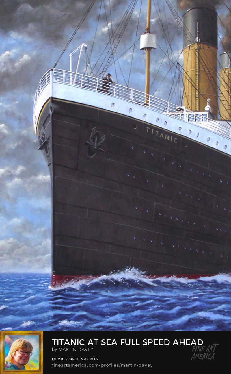 full speed Titanic