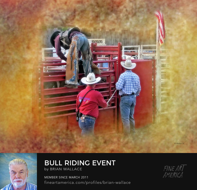 Bull Riding Event by Brian Wallace