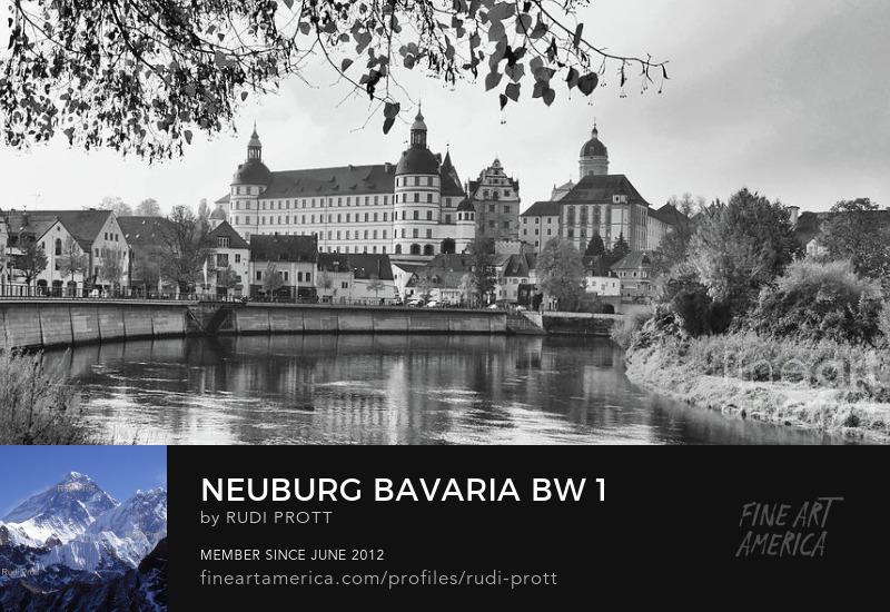 Neuburg Bavaria by Rudi Prott