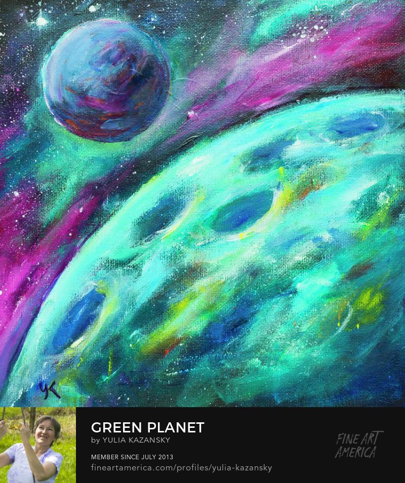 Green Planet by Yulia Kazansky