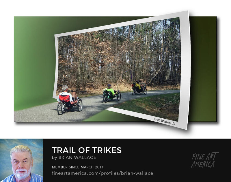 Trail Of Trikes by Brian Wallace