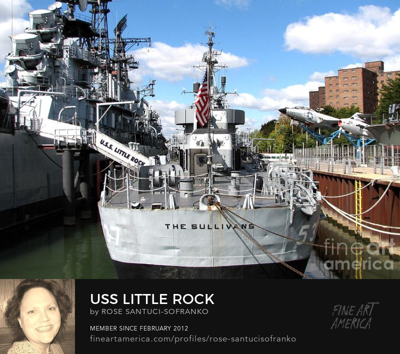 Uss Little Rock And The Sullivans Ships