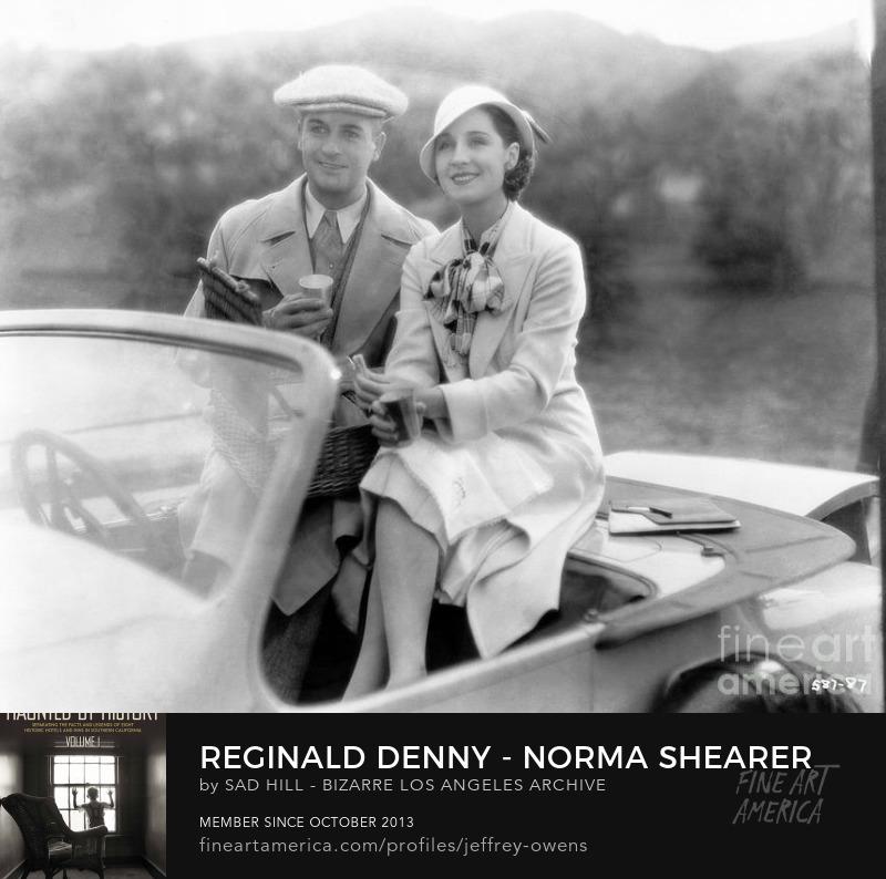 Norma Shearer and Reginald Denny Art Prints