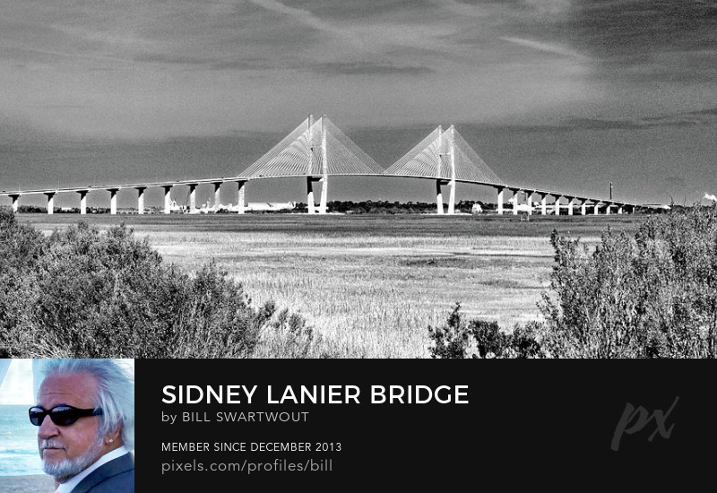 Sidney Lanier Bridge Wall Art Prints