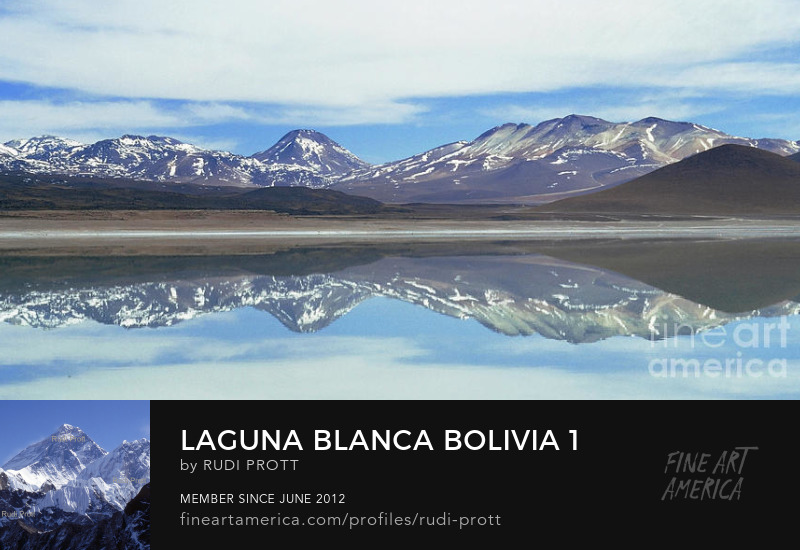 Laguna Blanca Bolivia by Rudi Prott