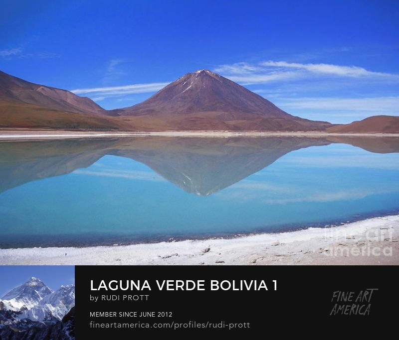 Laguna Verde Bolivia by Rudi Prott
