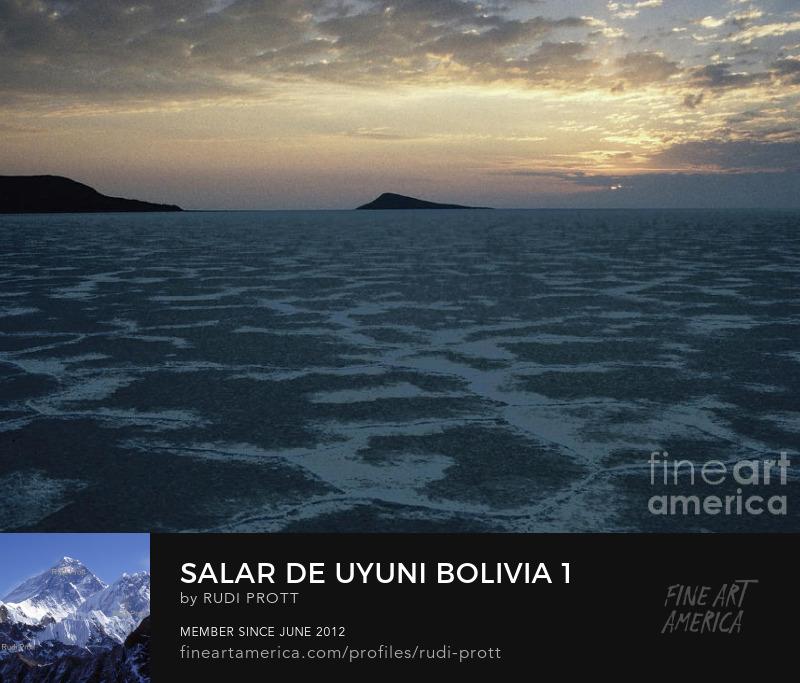 Salar de Uyuni Bolivia by Rudi Prott