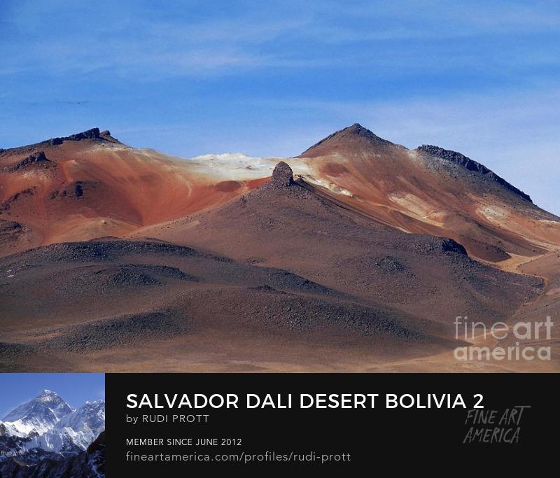 Salvador Dali Desert Bolivia by Rudi Prott