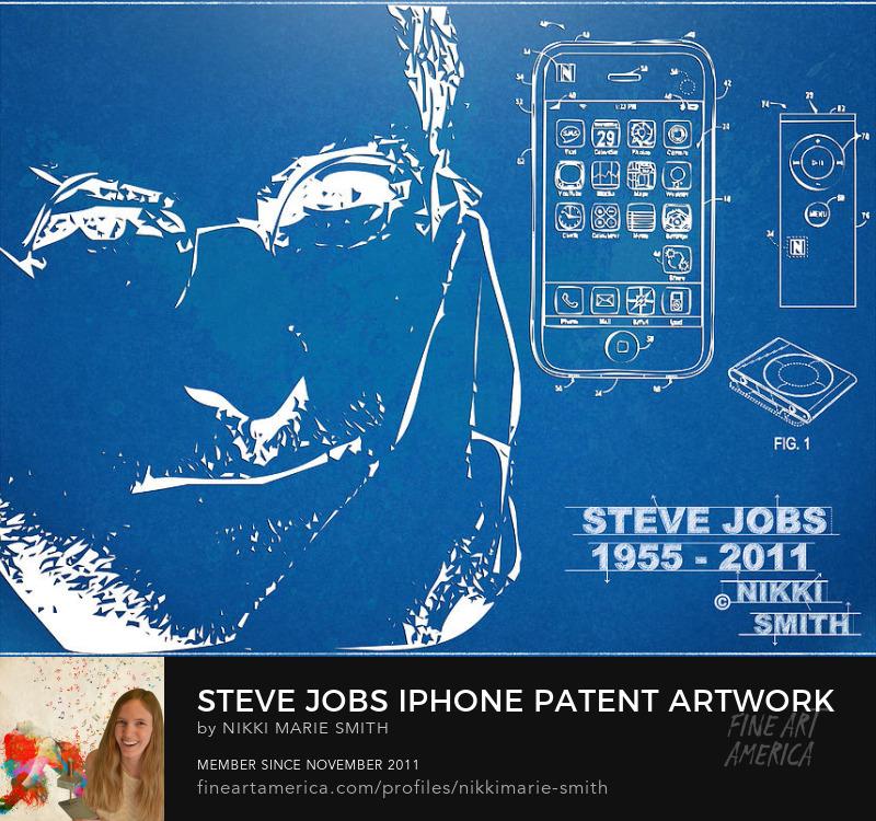 Steve Jobs Fine Art