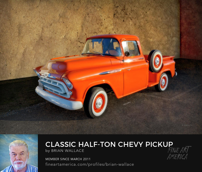 Classic Half-ton Chevy Pickup by Brian Wallace