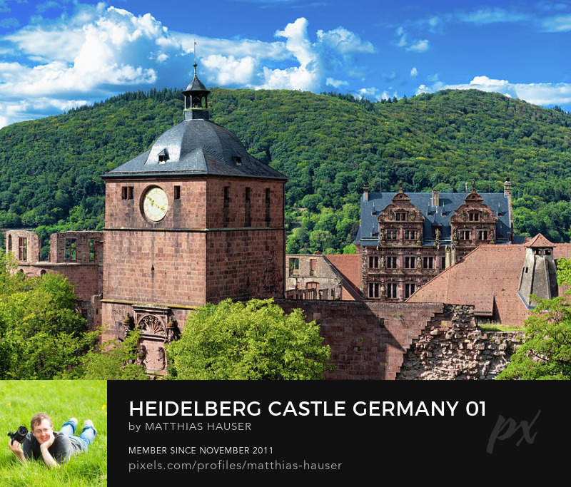 Heidelberg Castle Art Print