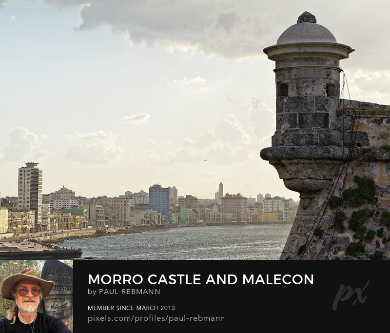 Morro Castle and Malecon by Paul Rebmann