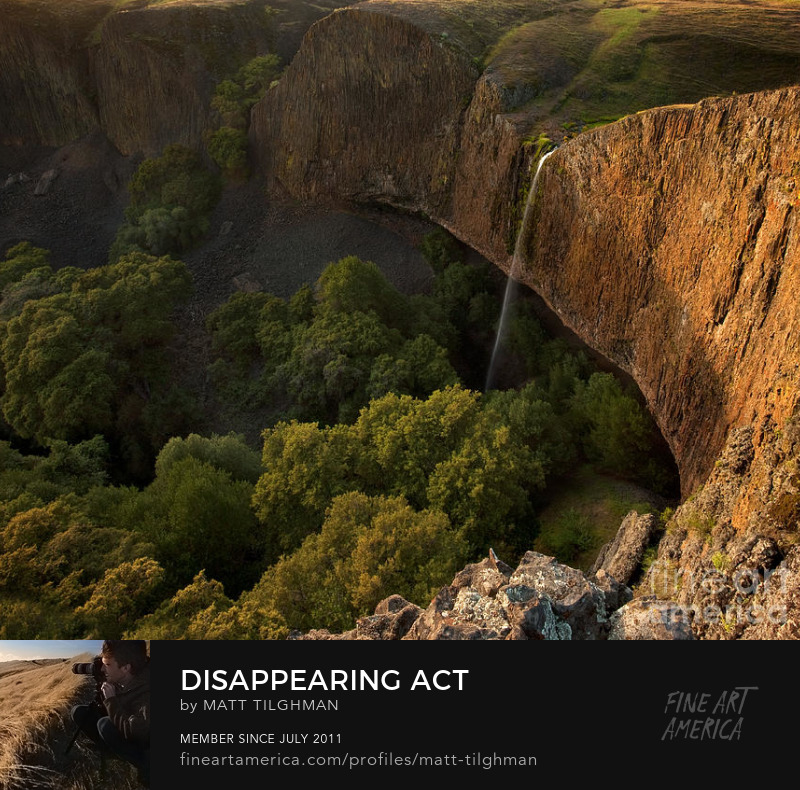 Disappearing Act Phantom Falls Art Prints