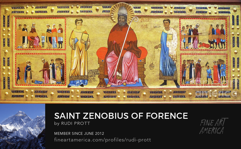 Saint Zenobius of Florence by Rudi Prott