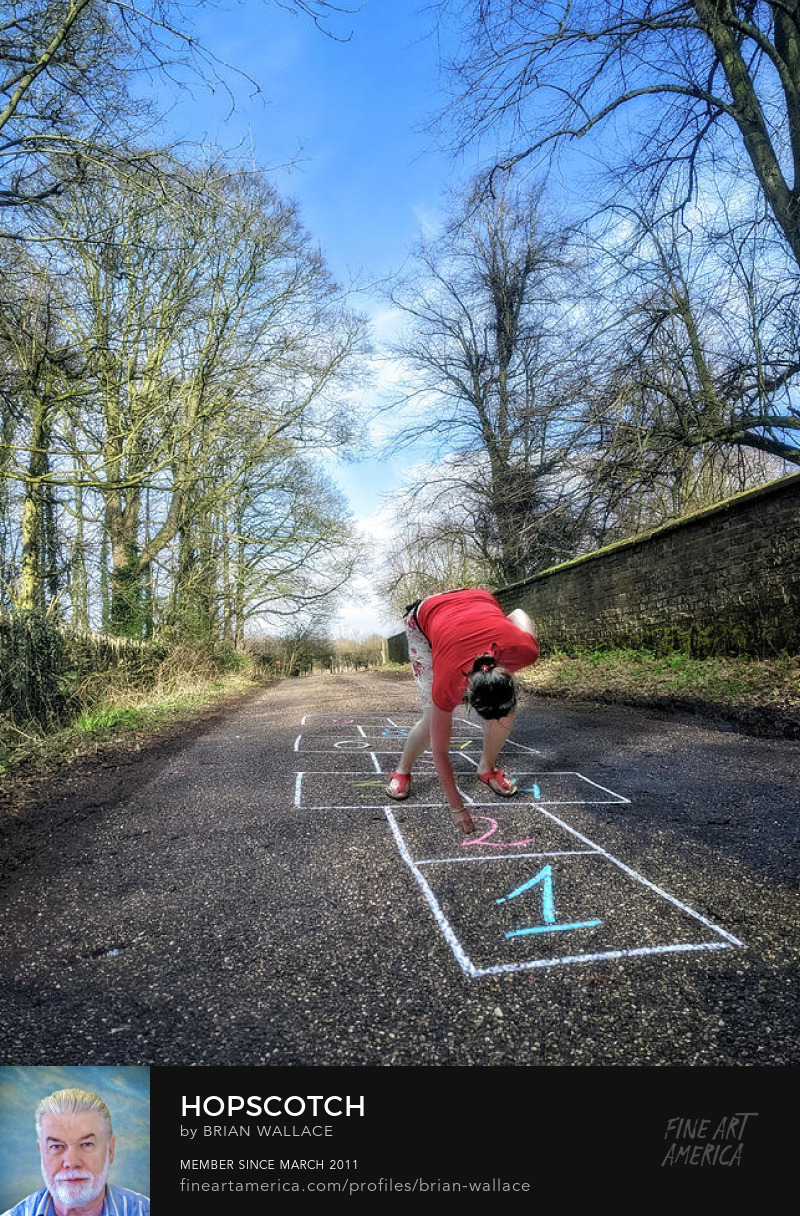 Hopscotch by Brian Wallace